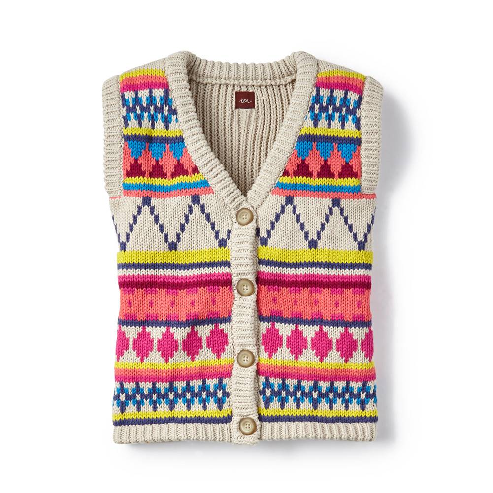 tea collection Awayo Cardigan Vest