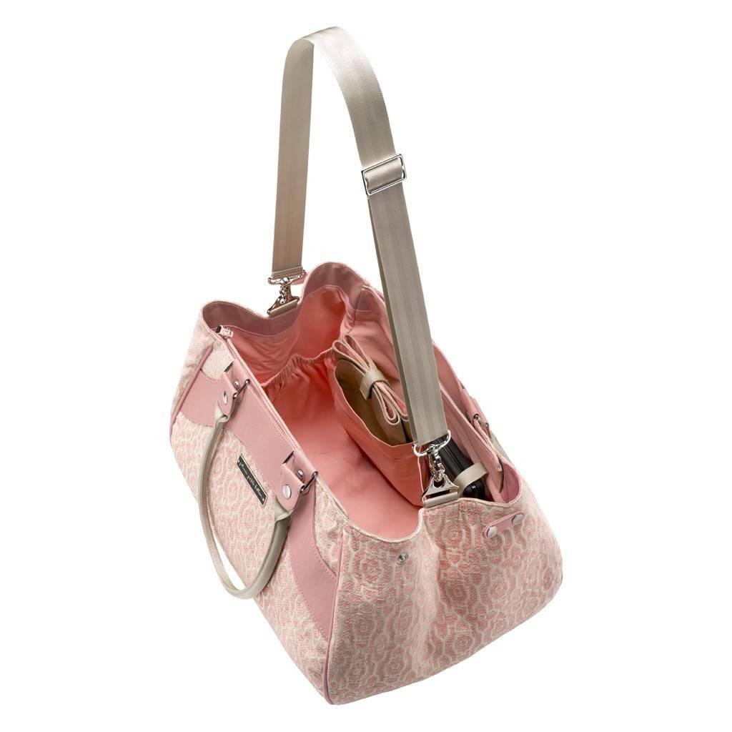 PETUNIA PICKLE BOTTOM Wistful Weekender Bag Sweet Rose