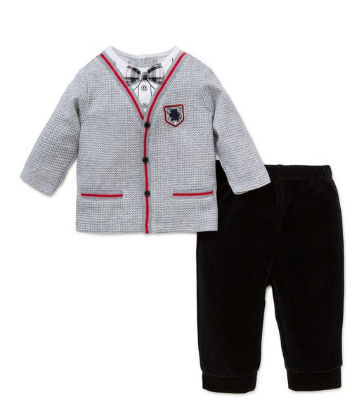 Little Me Cardigan 2PC Set