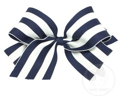 Wee Ones Bows Nautical Bow Mini