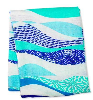 Bamboo Blanket Waves