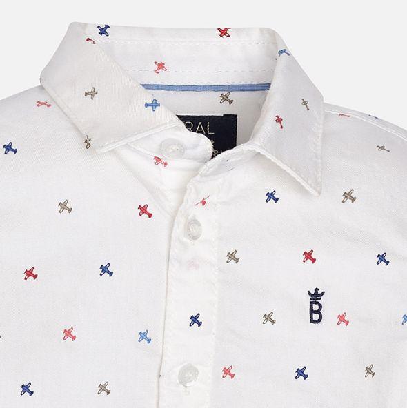 Mayoral White long sleeve shirt