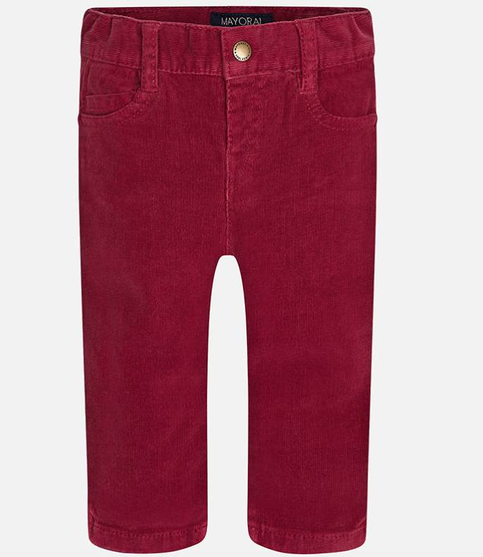 Mayoral Berry slim fit trousers