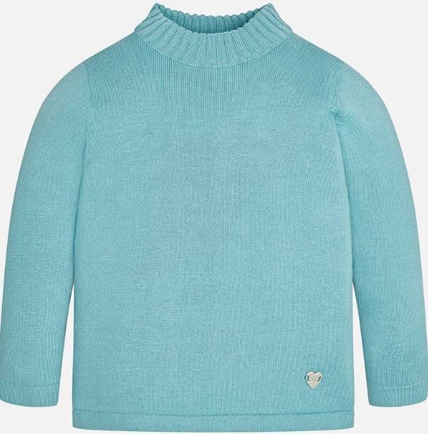 Mayoral Ocean kitted mockneck sweater
