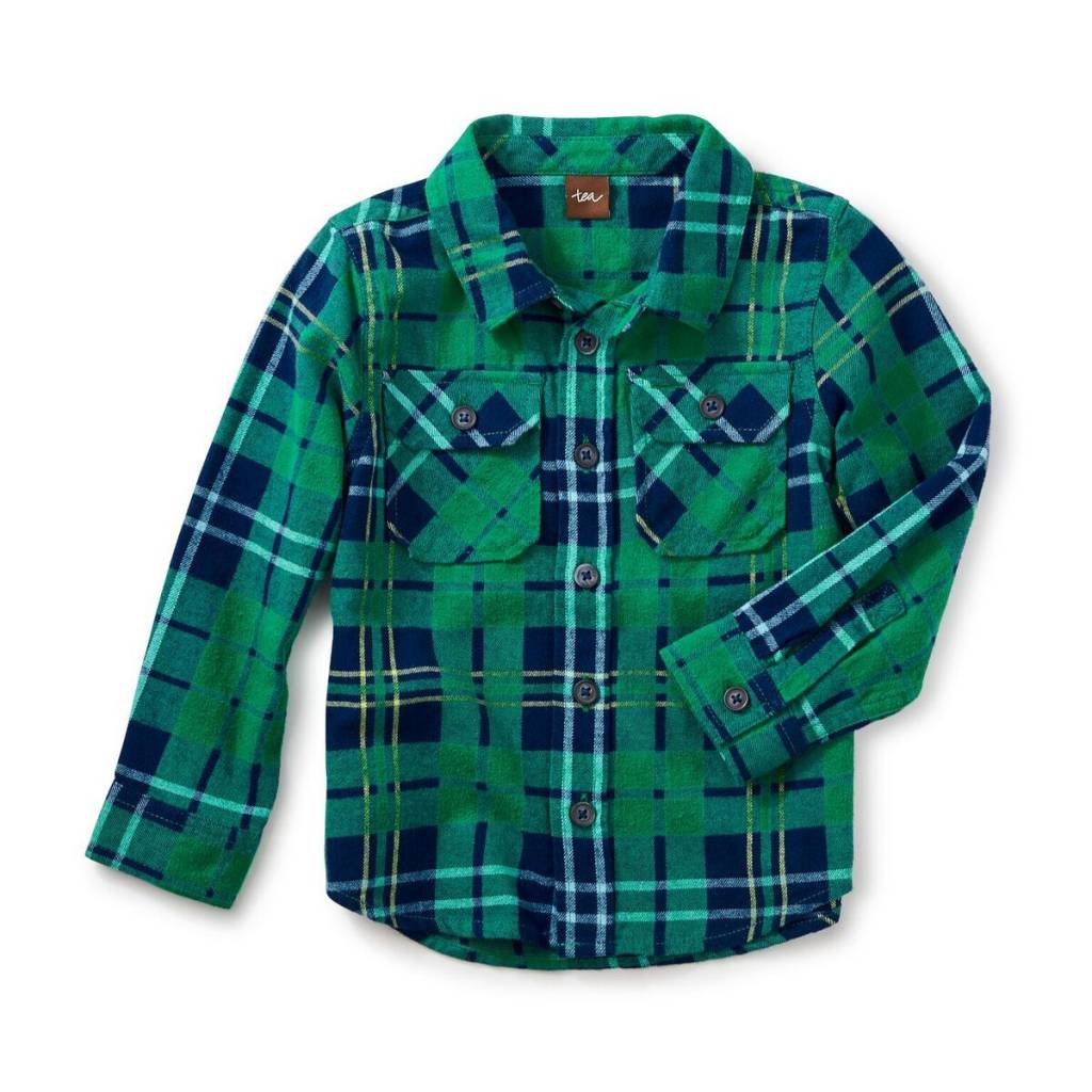 tea collection Green Flannel