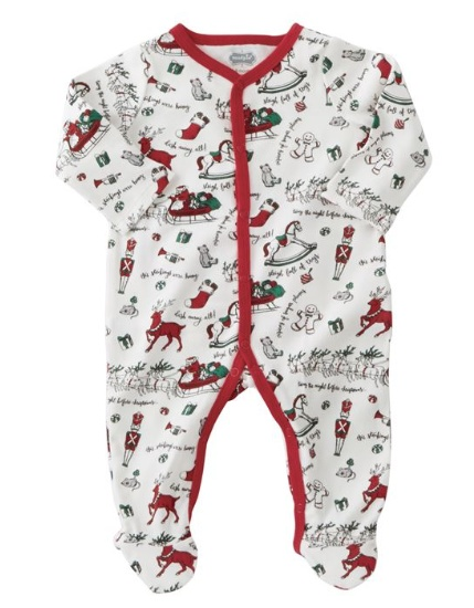 Mudpie Red Merry Christmas Sleeper