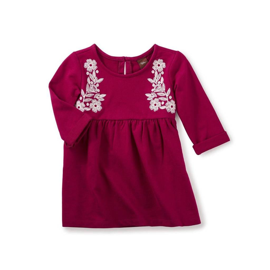 tea collection Alisa Embroidered Dress