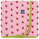 Kickee Pants Swaddle Blanket Lotus Watermelon