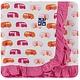 Kickee Pants Toddler Blanket Natural Camper