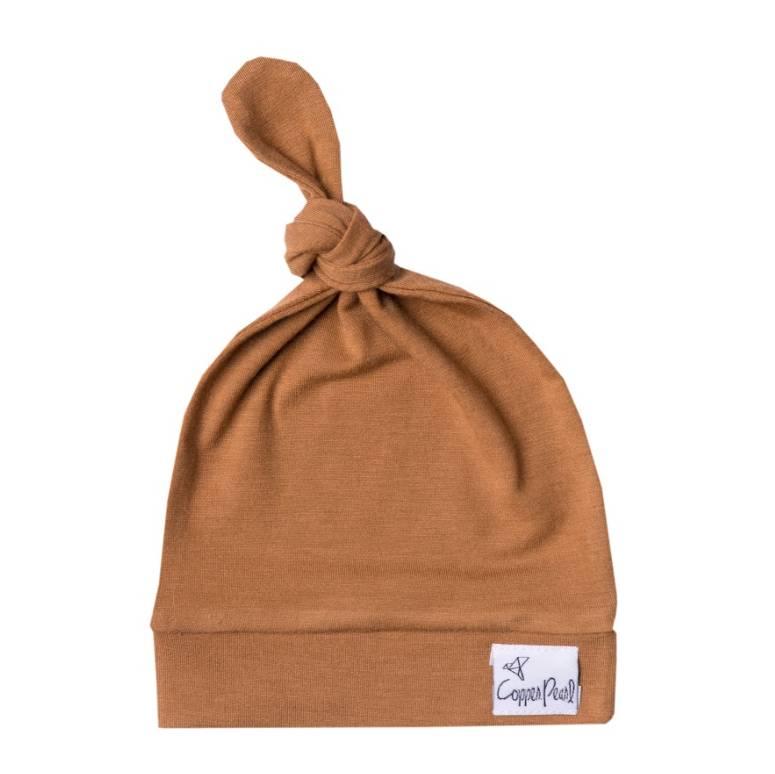 Copper Pearl Copper Pearl Top Knot Hat Camel