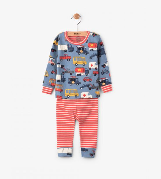 Hatley Rush Hour Pajama Set