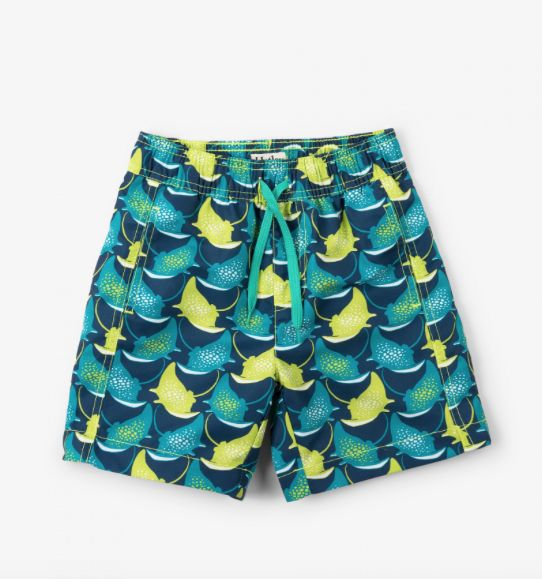 Hatley Manta Rays Swim Trunks