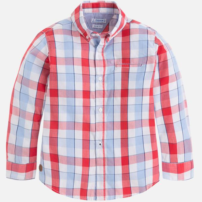 Mayoral Big Boy Checked Shirt
