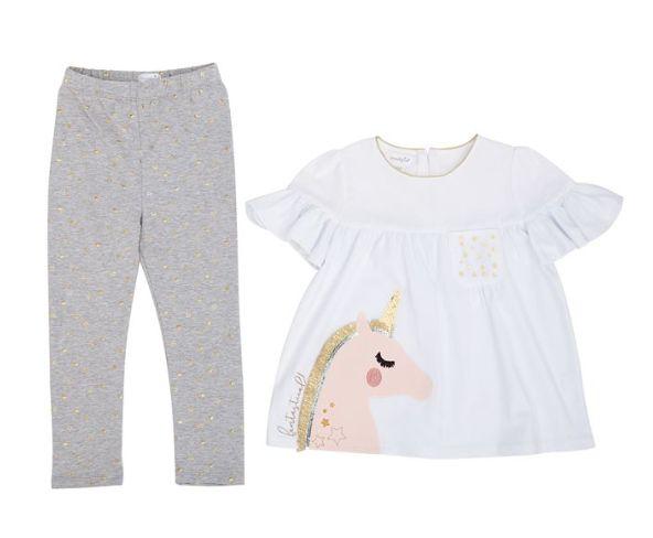 Mudpie Unicorn Tunic & Legging Set