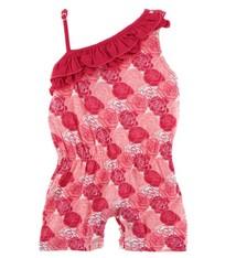 1103a9484252d Kickee Pants Roses Ruffle Romper