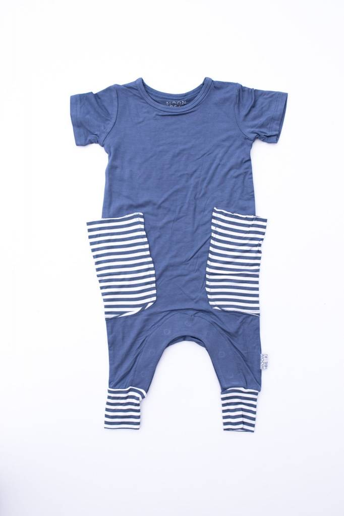 Moon + Beck The Slouch Romper