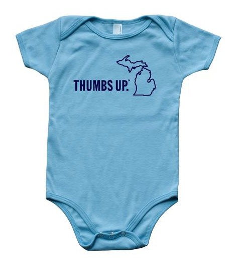 Great State Apparel Thumbs Up Onesie