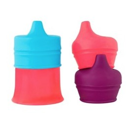 Tomy Snug Spout w/ cup pink