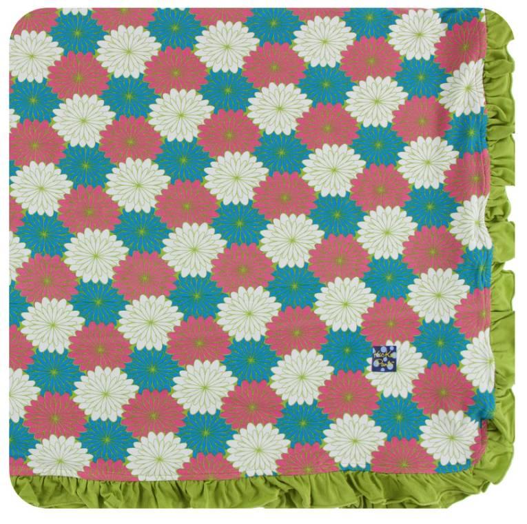 Kickee Pants Tropical Flowers Toddler Blanket
