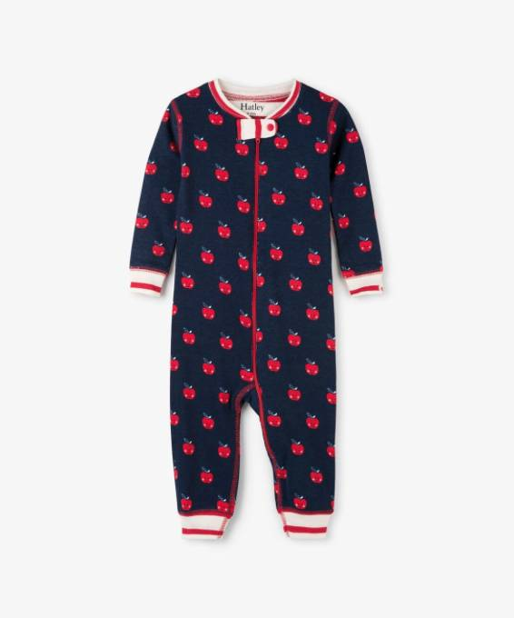 Hatley Smiling Apples Coverall
