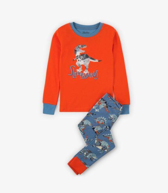 Hatley Sleepasaurus Pajama Set