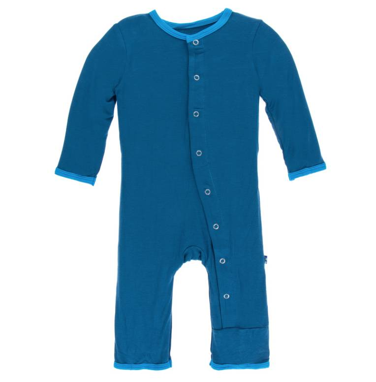 Kickee Pants Twilight Amazon Coverall w/Snaps