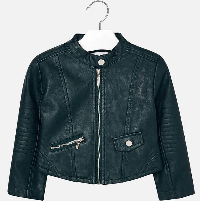 Mayoral Forest Leather Jacket
