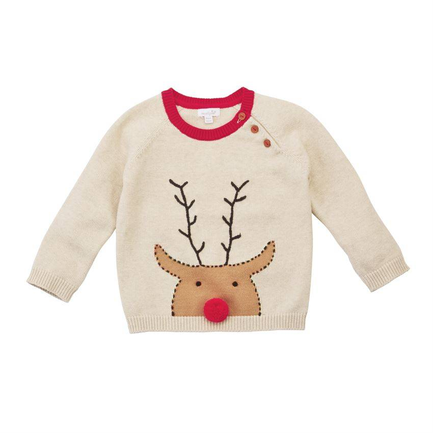 Mud pie Reindeer Sweater