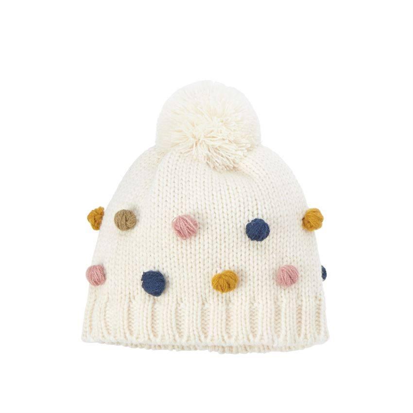 Mud pie Pom-Pom Knitted Hat