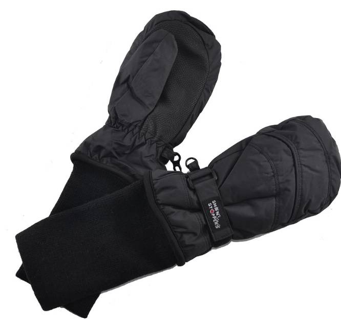 SnowStoppers SnowStoppers Mittens Black