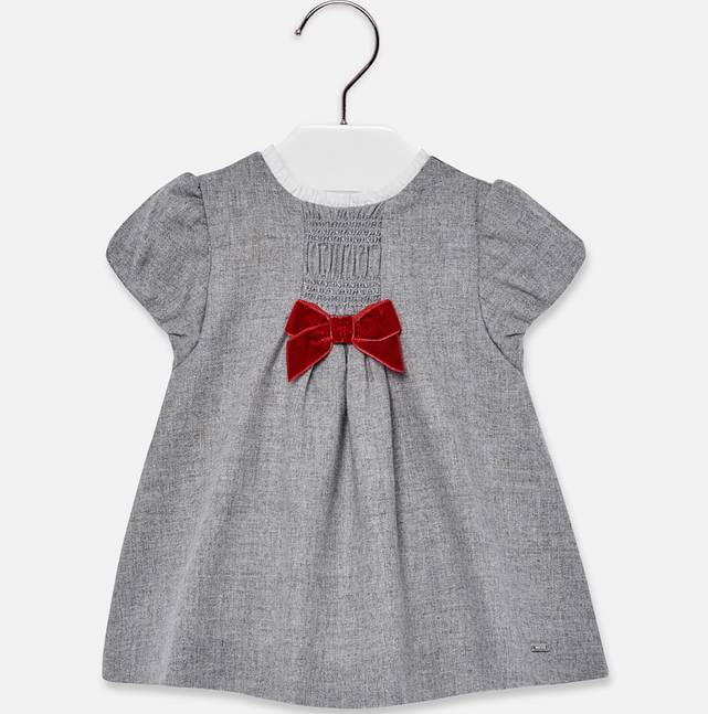 Mayoral Gray Flannel Dress