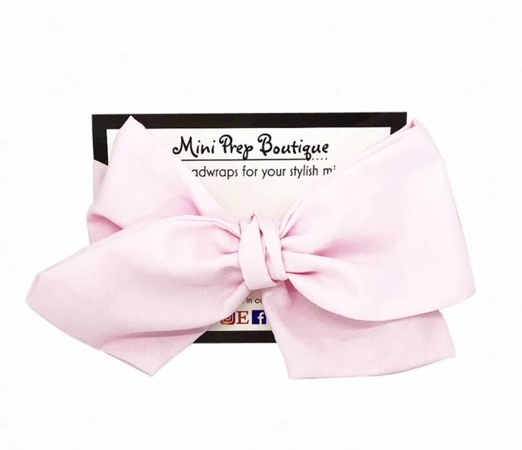Mini Prep Boutique Ballet Bow