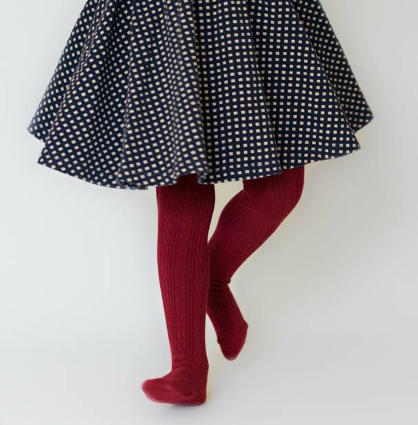 Little Stocking Company Ruby Tights