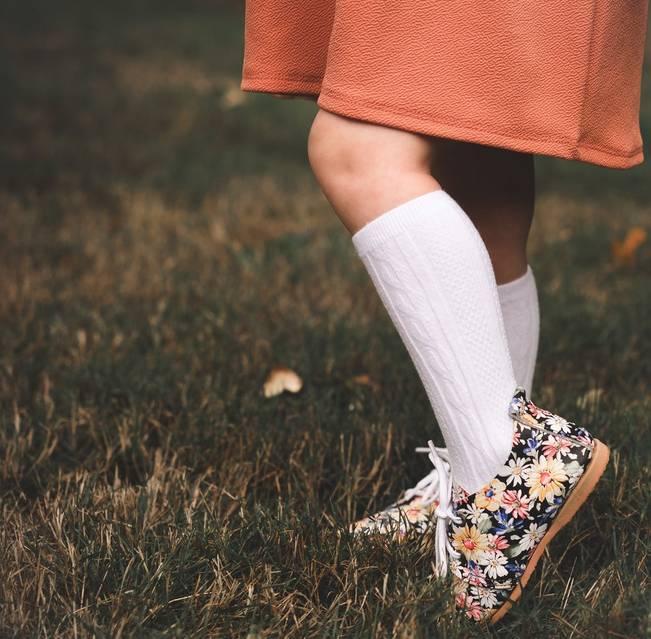 Little Stocking Company White Knee High Socks