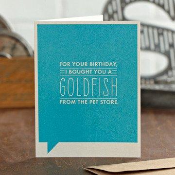 "Frank & Funny ""For your birthday..."" (Happy Birthday)"