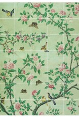IXXI Detail of Chinese Painted Wallpaper - Large