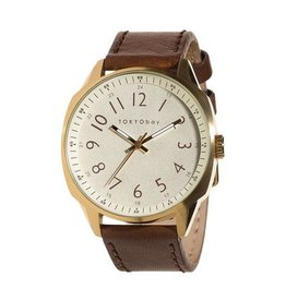 TOKYObay Gable Watch - Beige