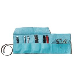 TOKYObay Obi Jewellery Roll - Turquoise