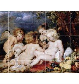 IXXI Christ with John the Baptist and Angels - Medium