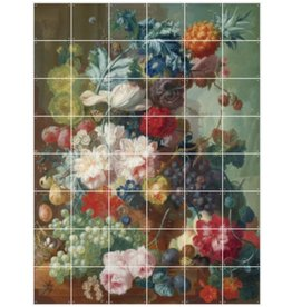 IXXI Still Life of Fruit and Flowers - Large