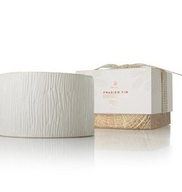 Thymes Frasier Fir Ceramic Poured Candle - 3 Wick