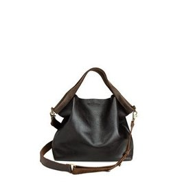 Jo Handbags Shopping Bag Mini - Espresso Black