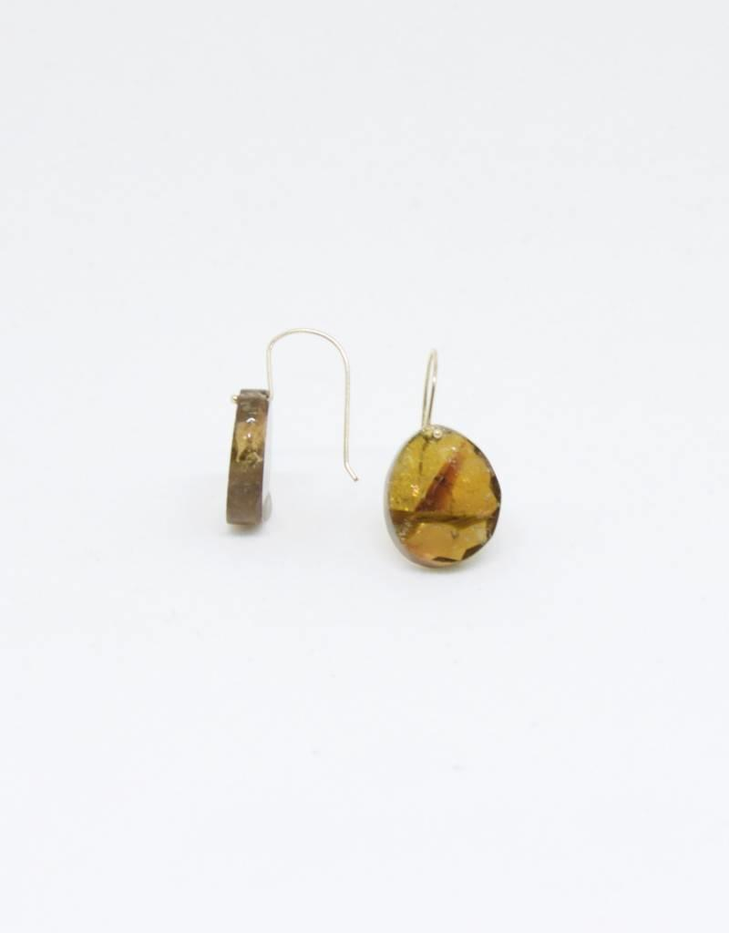 Bruml Design Yellow Tourmaline Small Earring