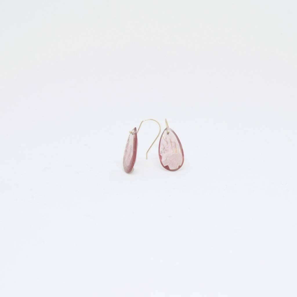 Bruml Design Pink Tourmaline Earring