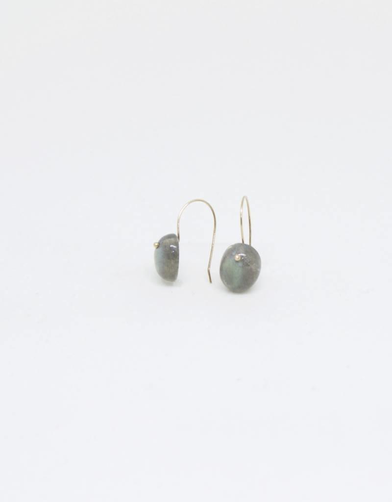 Bruml Design Labradorite Round Facet Earring