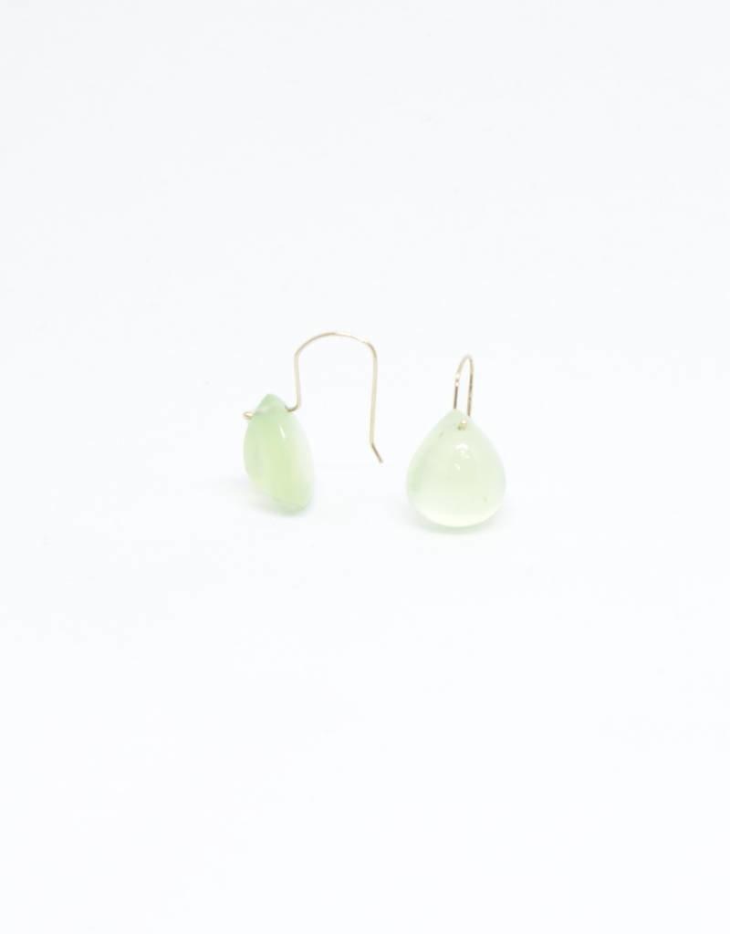 Bruml Design Pyrite Teardrop Earring