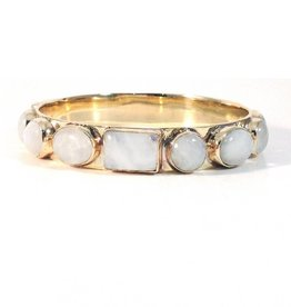 Addison Weeks Bendall Bangle - Moonstone