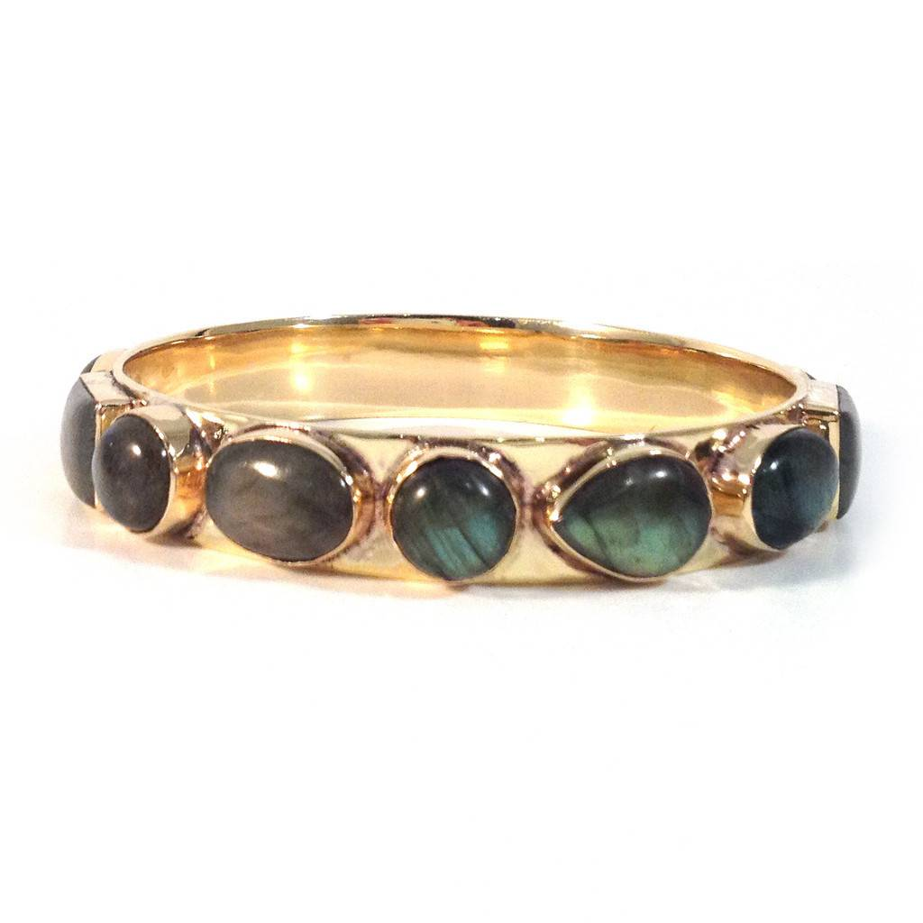 Addison Weeks Bendall Bangle - Labradorite