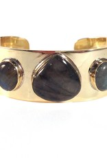 Addison Weeks Allison Bracelet, Labradorite - Large
