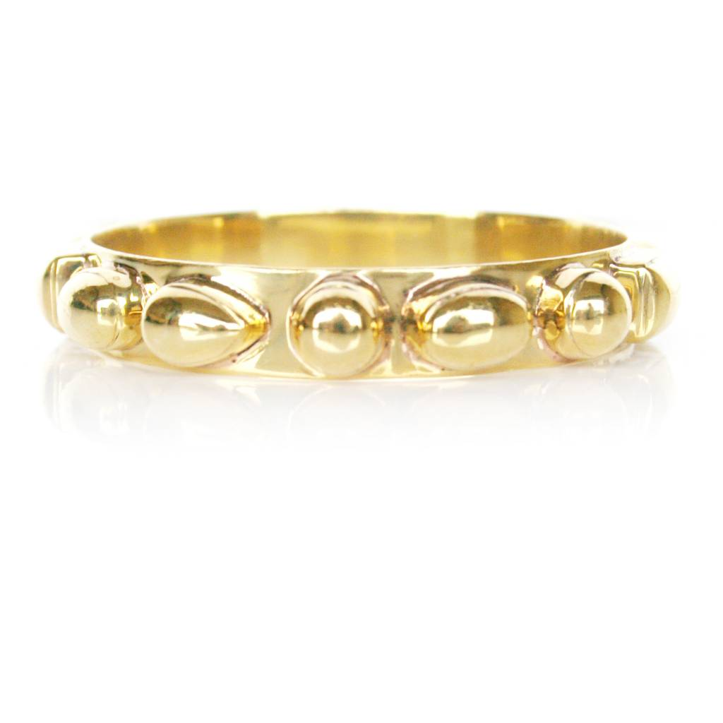 Addison Weeks Bendall Bangle - All Gold